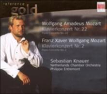 Concerto per Pianoforte n.22 K 482 - CD Audio di Wolfgang Amadeus Mozart,Sebastian Knauer