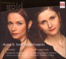Opere per Due Pianoforti - Sonata per Due Pianoforti K 448 - CD Audio di Wolfgang Amadeus Mozart