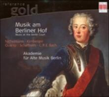 Music at the Berlin Court - CD Audio