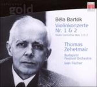 Concerti per Violino 1 & 2 - CD Audio di Bela Bartok