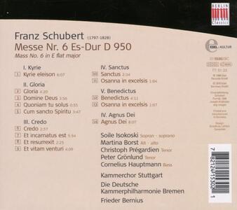 Messa D950 - CD Audio di Franz Schubert - 2