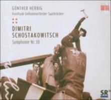 Sinfonia n.10 - CD Audio di Dmitri Shostakovich