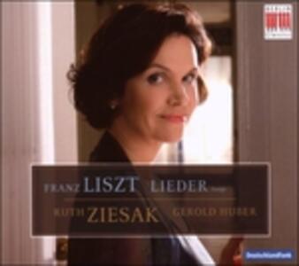 Lieder - CD Audio di Franz Liszt