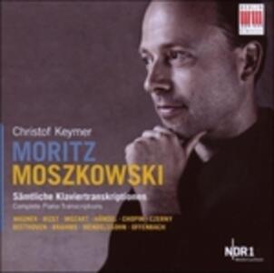 Trascrizioni per Pianoforte - CD Audio di Moritz Moszkowski,Christof Keymer