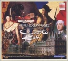 Sinfonie Francesi. n.4, n.7, n.8, n.14, Op.21 n.2 - CD Audio di Henri-Joseph Rigel