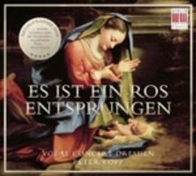 Es Ist Ein Ros Entsprunge - CD Audio di Vocal Concert Dresden