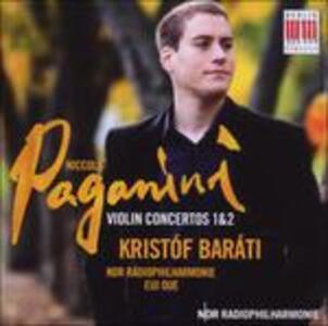 Concerti per violino n.1, n.2 - CD Audio di Niccolò Paganini