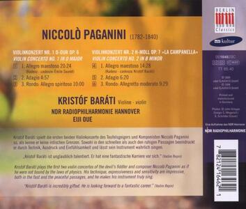 Concerti per violino n.1, n.2 - CD Audio di Niccolò Paganini - 2