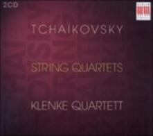 Quartetti per Archi n.1 Op.11, n.2 Op.22, n.3 Op.30; Souvenir De Florence Op.70 - CD Audio di Pyotr Ilyich Tchaikovsky
