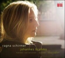 Handel Variations-Waltzes - CD Audio di Johannes Brahms