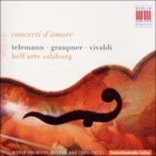 Concerti D'amore - Concerto per Viola D'amore Rv 397 - CD Audio di Antonio Vivaldi