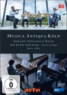 Johann Sebastian Bach. The Art of Fugue, BWV1080 (DVD) - DVD di Johann Sebastian Bach,Musica Antiqua Köln