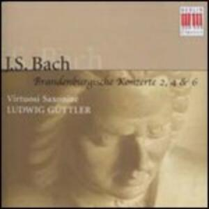 Concerti brandeburghesi n.2, n.4, n.6 - CD Audio di Johann Sebastian Bach,Ludwig Güttler,Virtuosi Saxoniae