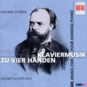 Musica per pianoforte a 4 mani - CD Audio di Antonin Dvorak