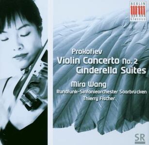 Concerto per violino n.2 - Cenerentola - CD Audio di Sergej Sergeevic Prokofiev