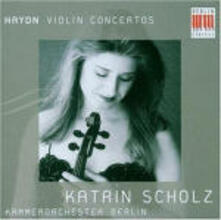 Concerti per violino - CD Audio di Franz Joseph Haydn,Katrin Scholz