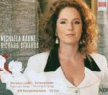 Lieder orchestrali - CD Audio di Richard Strauss,Michaela Kaune