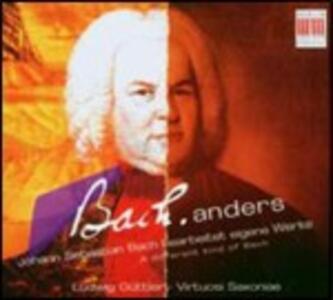 A Different Kind of Bach - CD Audio di Johann Sebastian Bach,Ludwig Güttler,Virtuosi Saxoniae