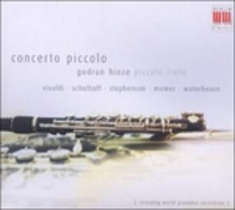 Concerto piccolo - CD Audio di Gudrun Hinze