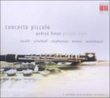 Concerto piccolo - CD Audio di Gudrun Hinze