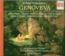Genoveva - CD Audio di Robert Schumann,Kurt Masur,Dietrich Fischer-Dieskau,Peter Schreier,Edda Moser,Siegfried Vogel,Gewandhaus Orchester Lipsia