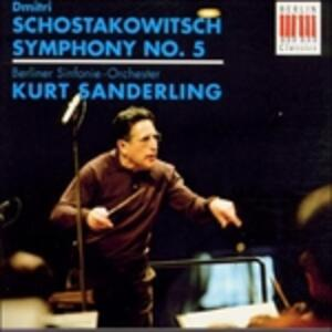Sinfonia n.5 - CD Audio di Dmitri Shostakovich