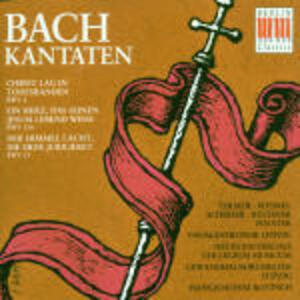 Cantate di Pasqua BWV4. BWV31, BWV134 - CD Audio di Johann Sebastian Bach