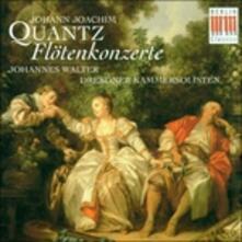 Concerti per flauto - CD Audio di Johann Joachim Quantz