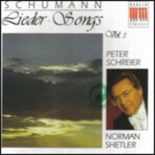 Lieder vol.3 - CD Audio di Robert Schumann