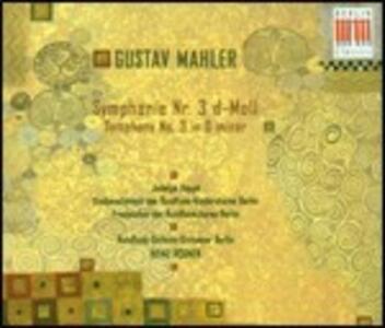 Sinfonia n.3 - CD Audio di Gustav Mahler,Heinz Rögner