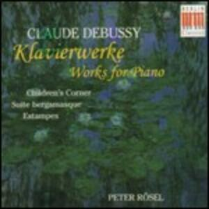Musica per pianoforte - CD Audio di Claude Debussy,Peter Rösel