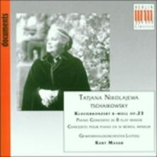Concerto per pianoforte n.1 - CD Audio di Pyotr Ilyich Tchaikovsky,Kurt Masur,Gewandhaus Orchester Lipsia,Tatiana Nikolayeva