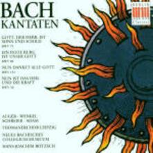 Cantate BWV79, BWV80, BWV192, BWV50 - CD Audio di Johann Sebastian Bach,Peter Schreier,Arleen Auger
