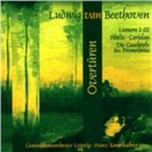Ouvertures - CD Audio di Ludwig van Beethoven
