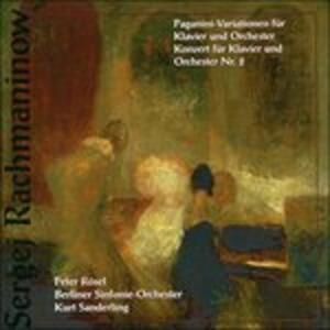 Paganini - Variations - CD Audio di Sergej Vasilevich Rachmaninov