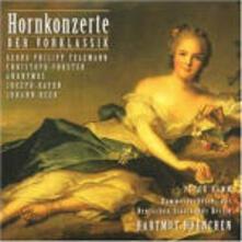 Concerti per corno - CD Audio di Hartmut Haenchen,Peter Damm