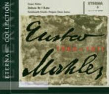 Sinfonia n.1 - Lieder Eines Fahrenden Gesellen - CD Audio di Gustav Mahler,Kurt Sanderling,Otmar Suitner,Staatskapelle Dresda,Radio Symphony Orchestra Berlino