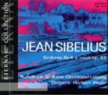 Sinfonie n.4, n.6 - Il cigno di Tuonela - CD Audio di Jean Sibelius