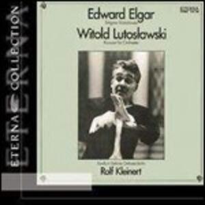 Concerto per orchestra / Variazioni Enigma - CD Audio di Edward Elgar,Witold Lutoslawski,Rolf Kleinert