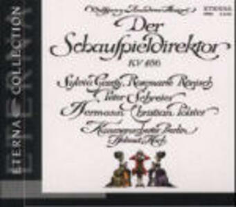 L'impresario (Der Schauspieldirektor) - CD Audio di Wolfgang Amadeus Mozart,Helmut Koch,Orchestra da camera di Berlino