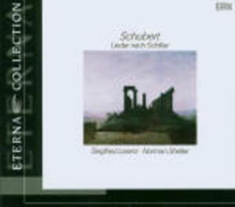 Lieder su testi di Schiller - CD Audio di Franz Schubert,Siegfried Lorenz