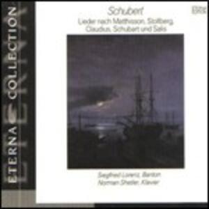 Lieder da Matthisson - CD Audio di Franz Schubert