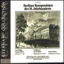 Compositori berlinesi del 18° Secolo - CD Audio di Carl Philipp Emanuel Bach,Federico II il Grande,Hans Peter Frank
