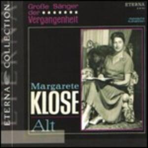 Grosse Sänger der Vergangenheit - CD Audio di Margarete Klose