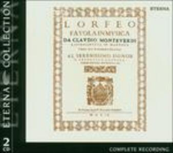 L'Orfeo - CD Audio di Claudio Monteverdi