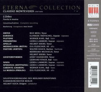 L'Orfeo - CD Audio di Claudio Monteverdi - 2