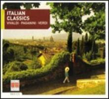 Italian Classics - CD Audio di Niccolò Paganini,Giuseppe Verdi,Antonio Vivaldi