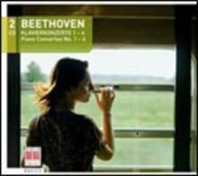 Concerti per pianoforte n.1, n.2, n.3, n.4 - CD Audio di Ludwig van Beethoven,Claus Peter Flor,Berliner Symphoniker,Peter Rösel