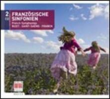 Sinfonie francesi - CD Audio di Georges Bizet,Camille Saint-Saëns,César Franck,Staatskapelle Dresda,Berliner Symphoniker,Otmar Suitner,Claus Peter Flor,Günther Herbig
