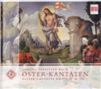 Easter Cantatas - CD Audio di Johann Sebastian Bach